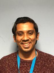 Azmol Hussain : Receptionist