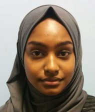 Ishrat Hussain : Receptionist