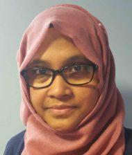 Nilufar Chowdhury : Receptionist